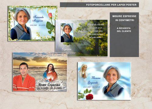 catalogo lapidi poster