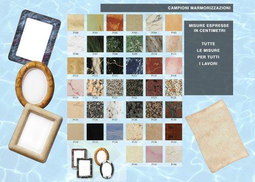 catalogo Campioni marmorizzazioni