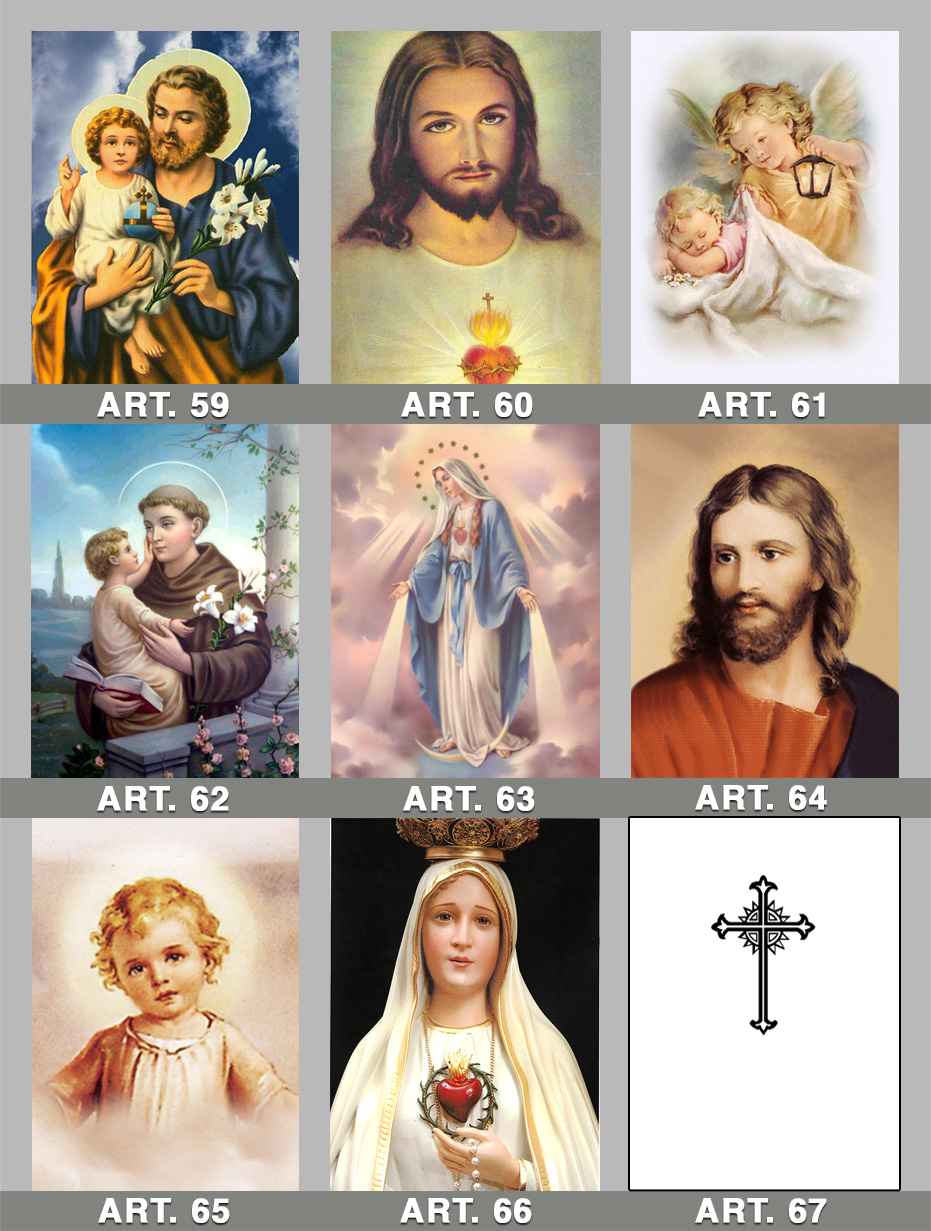 icone sacre da 59 a 67